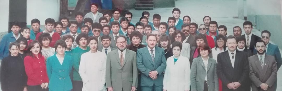 1992, se establece Belmed Ltda. - Wella Bolivia